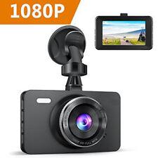 "Dash Cam 1080P Car DVR Dashboard Camera Full HD 3""LCD Screen 170°Wide Angle HM"