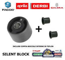 Supporto Motore Silent Block + Boccole Originale Piaggio Aprilia GIlera Derbi