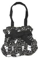 Nom Nom Piggy Kawaii Small Hand Bag - Black