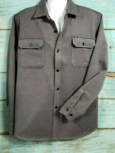 Obey  Outpost Woven Shirt GreyXL