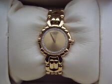 Raymond Weil 18K Gold Electroplated Ladies Bracelet Watch.