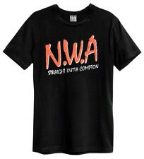N.W.A. 'Logo' (Black) T-Shirt - Amp   - NEW & OFFICIAL!