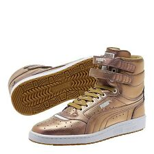 Puma Sky 2 Hi Holographic Gold 364197-02 Classic Casual Men