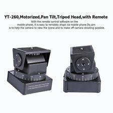 YT-260 Motorized Pan Tilt Tripod Head w/ Remote Control Switch for Camera Phone