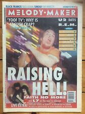Melody Maker 28/11/92 Faith No More cover, Stereo MCs, Helmet, Alice Donut