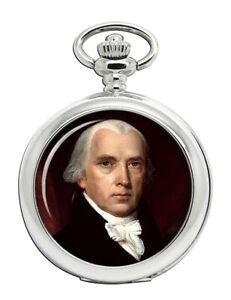 President James Madison Pocket Watch