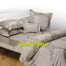 Yves Delorme New Full / Queen Duvet Cover Baroque Pierre Classic Medallions $625