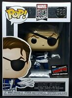 Funko Pop + Protector! Marvel #528 80th Anniversary - Nick Fury 2019 NYCC *Mint*