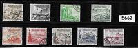 #5662    Complete 1937 Winter Relief stamp set / Third Reich era Germany