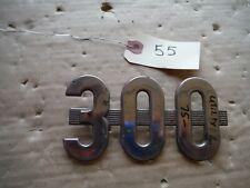 Ih Farmall 300 Utility Tractor Emblem Good Pegs 55