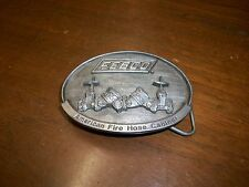 Fireman- Firefighter Belt Buckle-Febco fire hose cabinet-                1-b-1