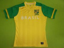 Brasil Brazil Soccer World League Jersey Shirt Mens Medium