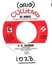 """MONKEES.D.W.WASHBURN / IT'S NICE TO BE WITH YOU.U.S.ORIG 7"""".EX"""