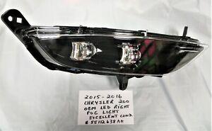 2015-2016 OEM Chrysler 200  Right Passenger Side LED Fog Light Lamp  #55112638AA