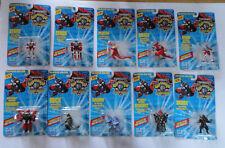 Lot (10) Superhuman Samurai Syber-Squad Mega-Miniature Action Figures & Monsters