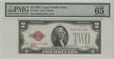 1928 $2 Legal Tender Note PMG 65 Gem Unc EPQ