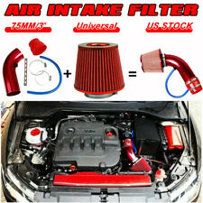 Car Accessories Cold Air Intake Filter Induction Kit Pipe Power Flow Hose System Fits Corvette