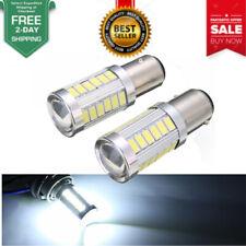 2pcs BA15D P21W 1157 33SMD LED Car Backup Reverse Head Light Bulb Hot