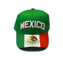 Mexico cap hat flag any sports World Cup Olympics Mexican Soccer baseball