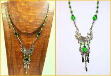 Handgefertigte Modeschmuck-Halsketten für Damen
