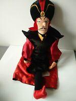 "Disney store Aladdin jafar evil villain soft toy plush 26"" VGC"