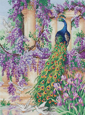 The Peacock - Maia Collection - Anchor Cross Stitch Kit - 56780001027