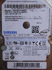 Samsung hn-m101mbb/z4 | pn: c7101-g14a-a10hc | 2011.05 | 1tb discoteca rigido