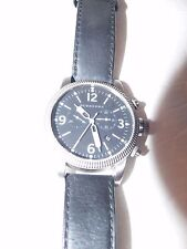 Burberry BU7808 Men's Watches Burberry Endurance Chronograph Dial Leather Strap
