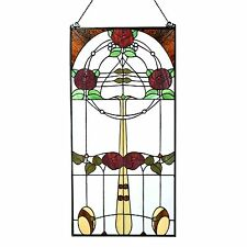 Tiffany Panelen, Scheiben, Panels Mackintosh Rose - Art Deco Trade