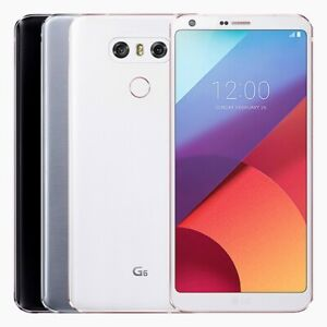 """LG G6 - 64GB - Mystic White (Unlocked) Smartphone """"Excellent Condition"""""""