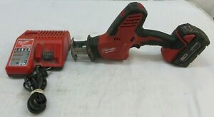 Milwaukee 2625-20 M18 Hackzall Recip Saw W/ XC 5.0 Battery & Charger