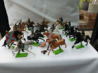 Britains deetail ACW Mounted Confederate & Union Soldiers 7439 & 7449