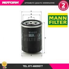 W6103 Filtro olio (MARCA MANN FILTER)