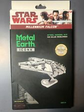 Star Wars Millennium Falcon Metal - 3D Laser Cut Highly Detailed Model Book Kit