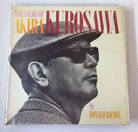 1965 Donald Richie THE FILMS OF AKIRA KUROSAWA ~ HC/DJ