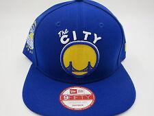 Golden State Warriors Blue Throwback 9FIFTY NBA New Era Retro Snapback Hat Cap
