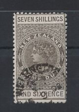 1895/01 New Zealand  Duty stamps SG F 63 Perf. 11 FU