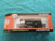 Model Power HO Scale 0-4-0 Locomotive Reading #12