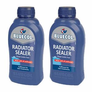 Radiator Sealer Cooling System Rad Stop Leak Anti Rust 500ml x 2