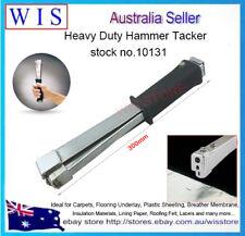 Heavy Duty Hammer Tacker Carpet Underlay Stapler,Suit for Insulation Job-10131