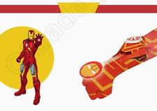 NEW! Iron Man Disc Shooting Glove Kids Avengers Ironman Launcher Blaster Toy
