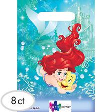 Amscan Disney Princess Little Mermaid Ariel Dream Big Birthday Party Loot Bags