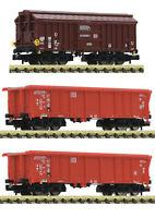 """Fleischmann N 829358 Güterwagen-Set der DB AG """"Neuheit 2020"""" - NEU + OVP"""