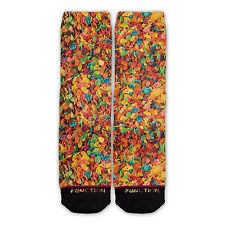 Function - Fruity Cereal Sublimated Sock fruit pebble socks fruit cereal socks