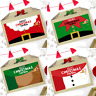 PERSONALISED CHRISTMAS EVE BOX | SANTA & ELF | XMAS FAVOUR PRESENT GIFT BAG