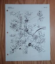 TROY-BILT JUNIOR TILLER 4HP ENGINE PARTS MANUAL
