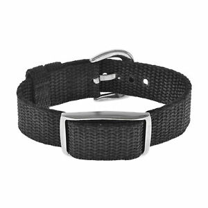 Bioflow Magnetic Therapy Explorer Black Canvas Wristband - From Bioflow Direct