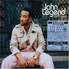 JOHN LEGEND-ONCE AGAIN +1-JAPAN CD+DVD BONUS TRACK Ltd/Ed F83