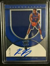 2018-19 Crown Royale Basketball 174/199 Auto/Jersey Bruce Brown #203 Pistons