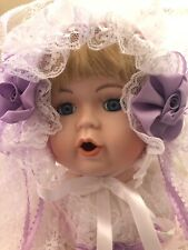 Vintage Victorian Collection By Design Deput American Made Porcelain Grace Doll